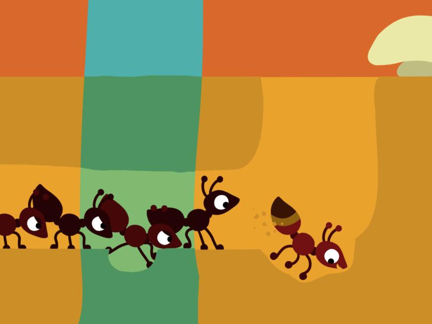 Ameise - Reihe für Minis