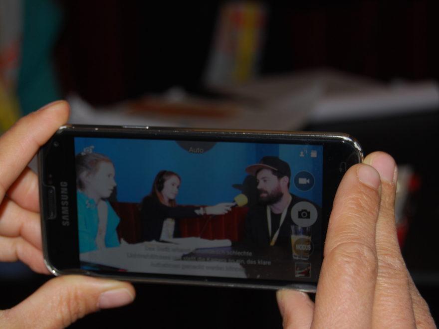 """Kinderradio Radio Interview mit Regisseur und Filmemacher Alexey Kuzmin-Tarasov vom Film """"Peters Odyssee"""" auf dem MICHEL Kinder und Jugend Filmfest Hamburg."""